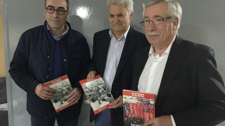 Paco de la Rosa, Toxo y José Luis Gil