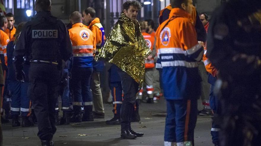 Uno de los escenarios del terror en París, el pasado viernes.