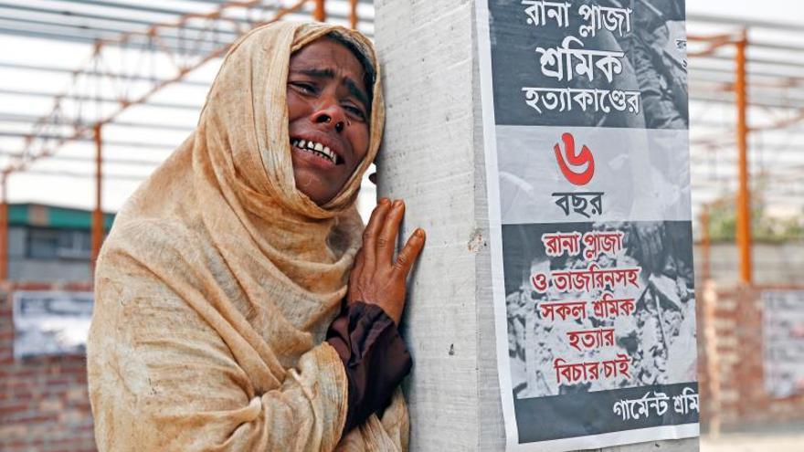 Sexto aniversario del derrumbe del complejo textil Rana Plaza
