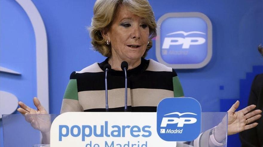 Aguirre asegura que le dolió mucho que González no fuera candidato a la Comunidad