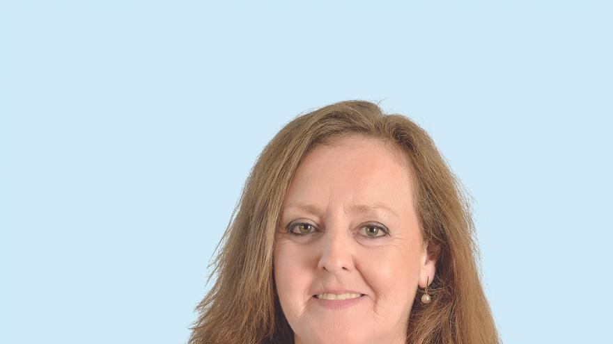 Mercedes Toribio, candidata del Partido Popular en el Ayuntamiento de Los Corrales de Buelna.