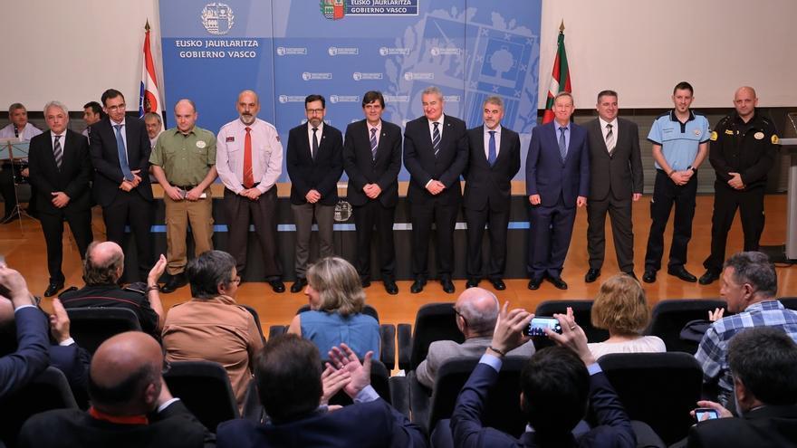 El Departamento de Seguridad concede nueve menciones honoríficas en el ámbito de la seguridad privada de Euskadi