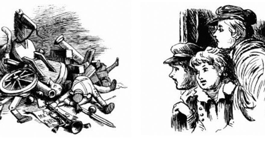 Ilustraciones creadas por Randolph Caldecott.