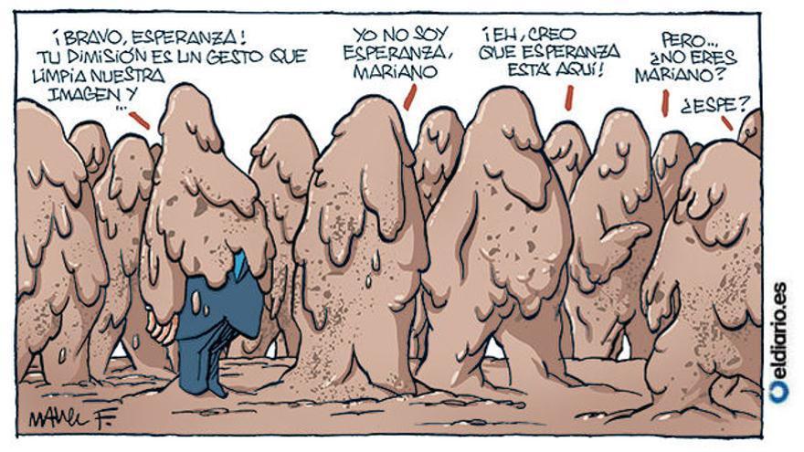 El PP visto por Fontdevila tras la dimisión de Esperanza Aguirre