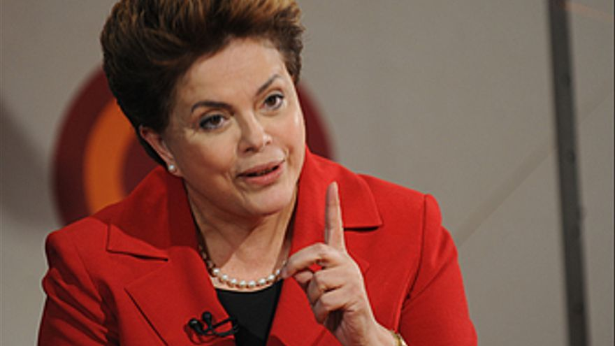 Candidata presidencial Dila Rousseff