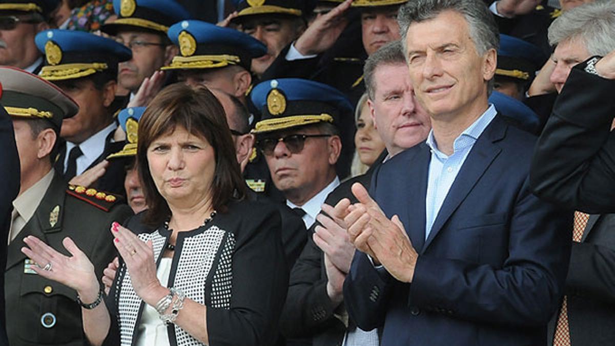 Mauricio Macri y Patricia Bullrich, dos de los denunciados por el Gobierno.