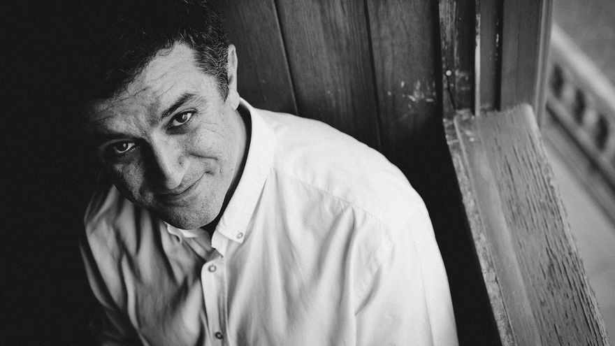 El dramaturgo palmero Antonio Tabares. Foto: DOMINIC DAHNKE