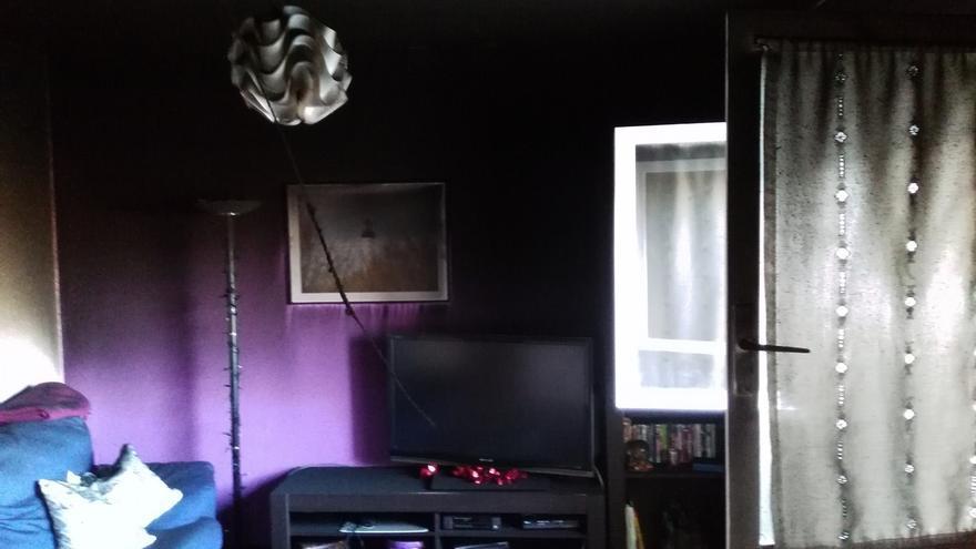 Trasladada al CHN una persona por inhalación de humo en un incendio en una vivienda de Barañáin