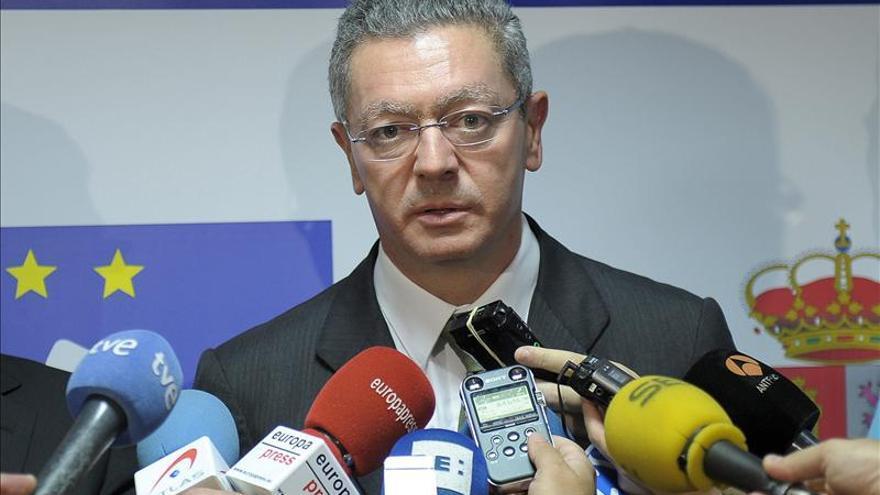 Ruiz-Gallardón dice que 23 asesinatos no deben tener el mismo reproche penal que uno