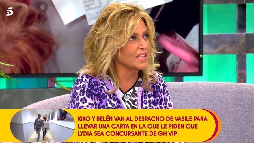 "Telecinco comienza a calentar GH VIP a través de Sálvame: ""Que vaya Lydia Lozano"""