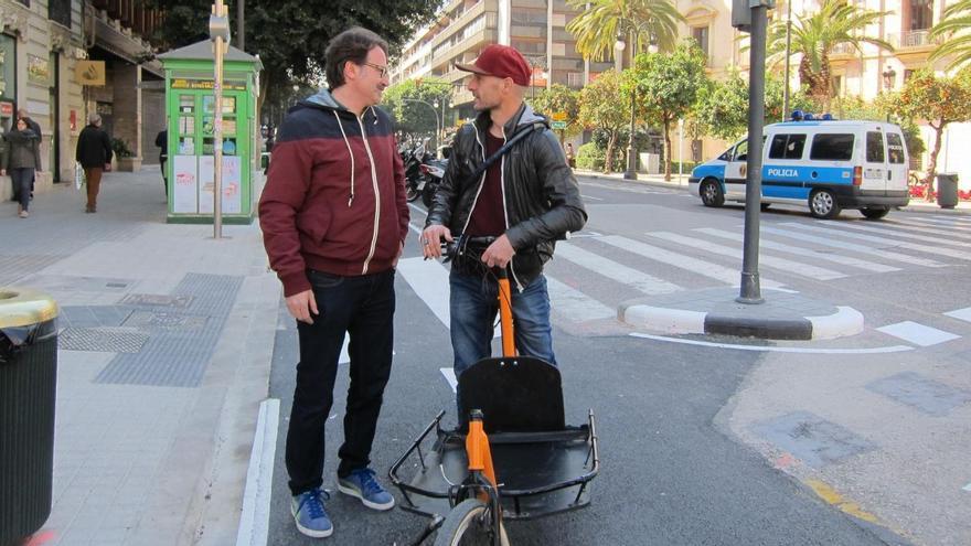 El concejal valenciano de Movilidad Sostenible, Giuseppe Grezzi