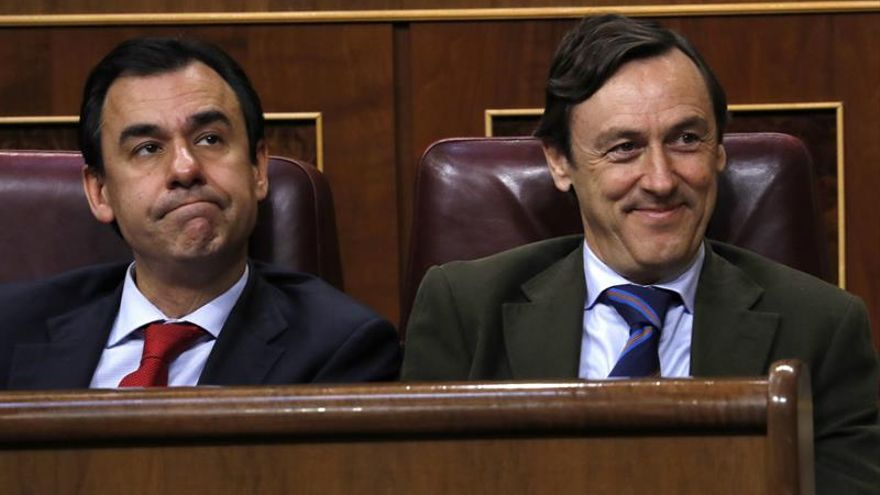 """Hernando (PP) ve """"esperanzadora"""" la situación con PNV y CC para validar los presupuestos"""