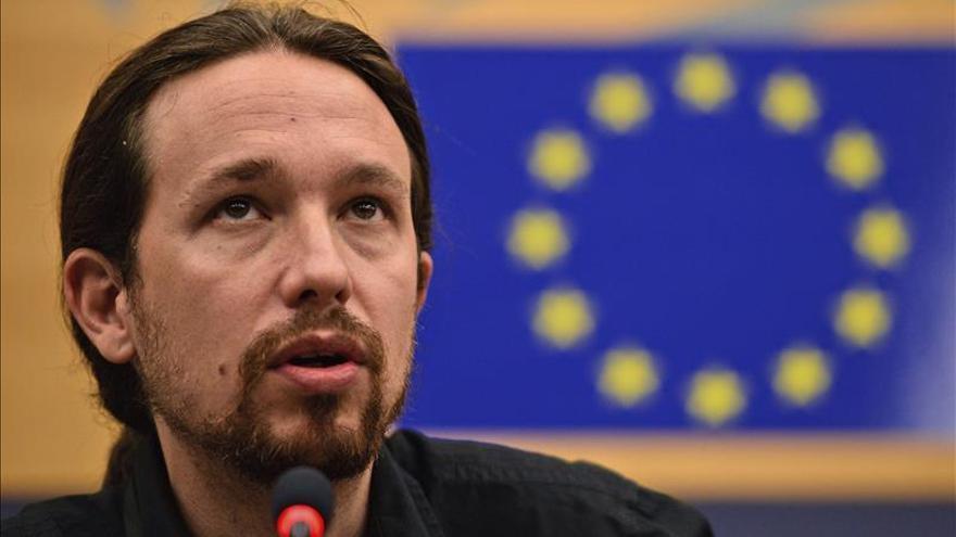 Pablo Iglesias (Podemos) pide a Iberia retrasar una hora el vuelo Estrasburgo-Madrid