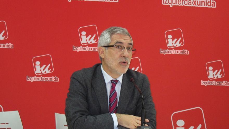 """Llamazares (IU): """"Si el PP quiere luchar contra la corrupción, que lo veo difícil, debe activar medidas a corto plazo"""""""