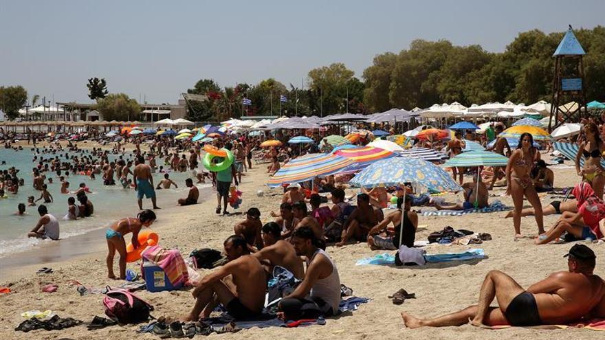 Las llegadas turísticas a Grecia y los ingresos caen en el primer trimestre