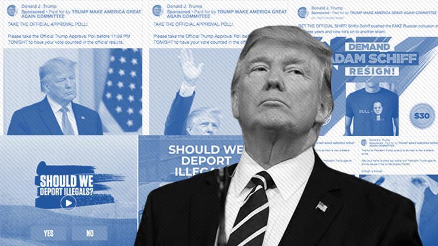 Un año dentro de la monumental campaña de Trump en Facebook