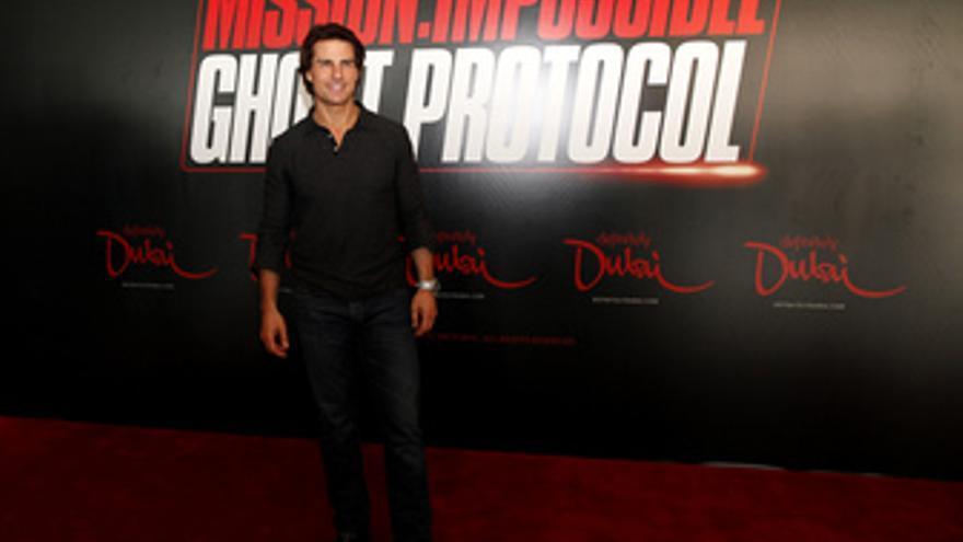 Tom Cruise presenta Mision imposible 4