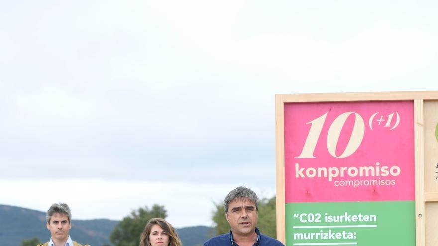 """Mikel Otero asegura que EH Bildu es """"el único voto sostenible eficiente"""""""