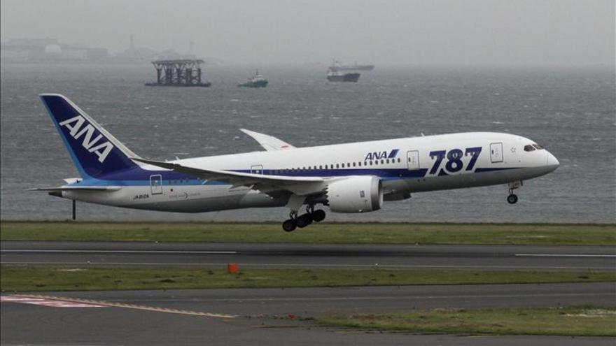 Boeing reanuda las entregas del 787 con un aparato para la japonesa ANA