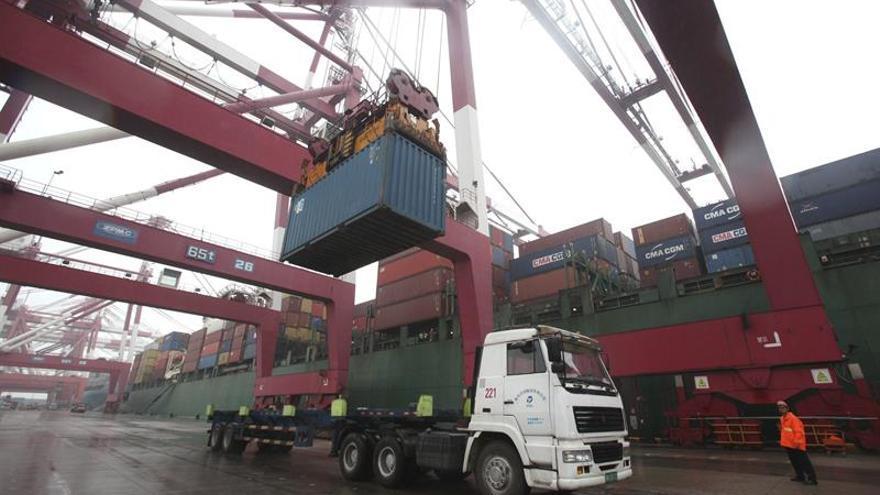 Las exportaciones alemanas caen en marzo un 0,5 por ciento en términos interanuales