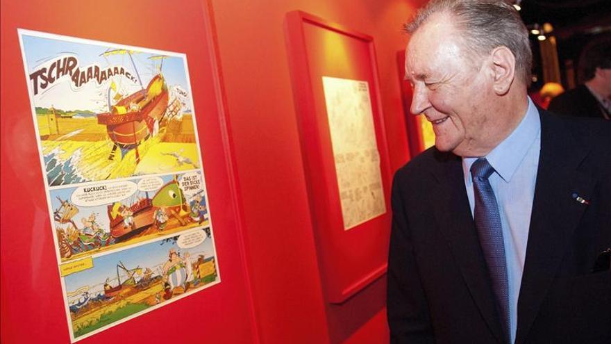 El padre de Asterix reina en Angulema, la capital del cómic