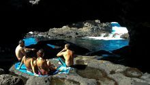 El Charco Azul, uno de los lugares insólitos y mágicos de la costa de El Hierro.