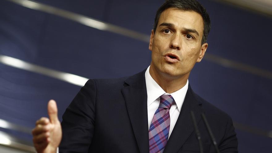 """Pedro Sánchez, dispuesto a reunirse con Rajoy, para advertirle de que """"debe"""" ir a la investidura y reiterarle su no"""
