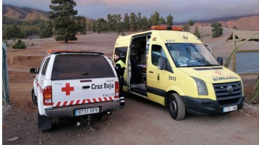 Imagen de archivo de un rescate en Villa de Mazo.