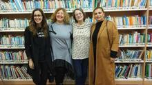 La  escritora Marta Sanz se deshace en elogios hacia La Palma en una entrevista con Angels Barceló