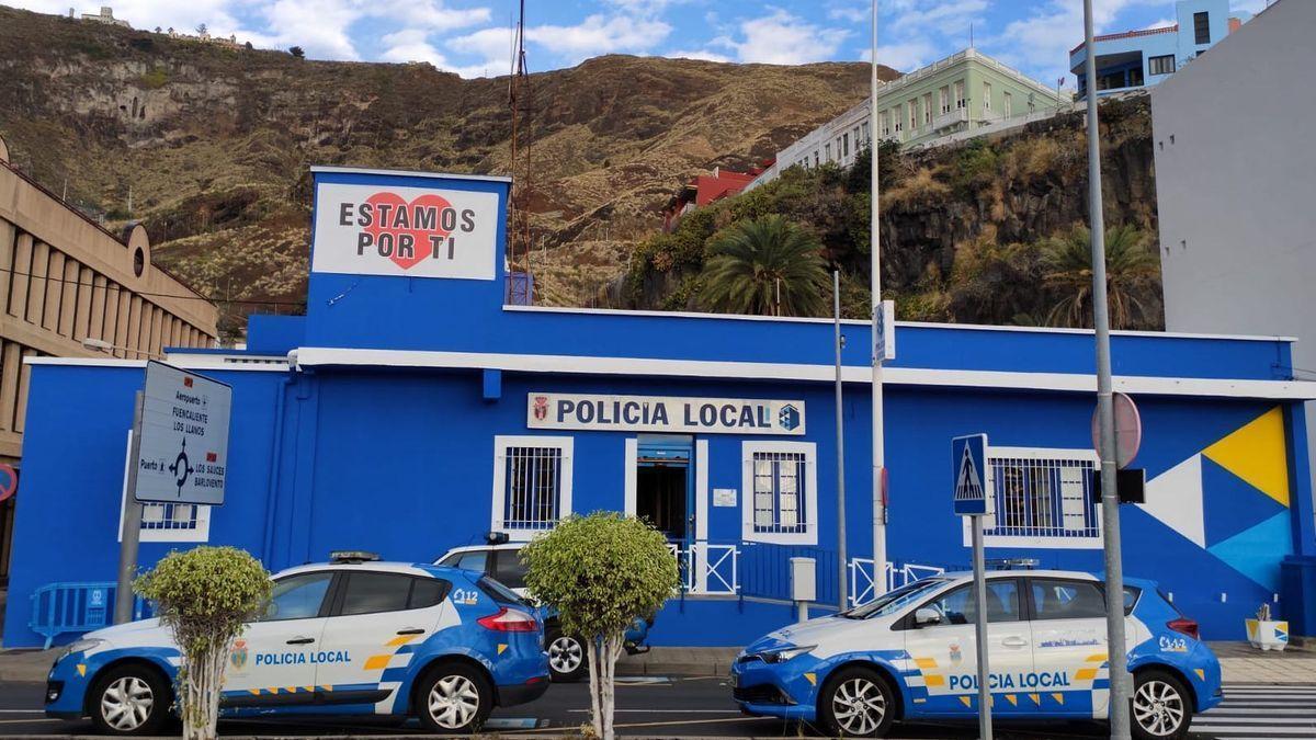 Instalaciones de la Policía Local de Santa Cruz de La Palma.