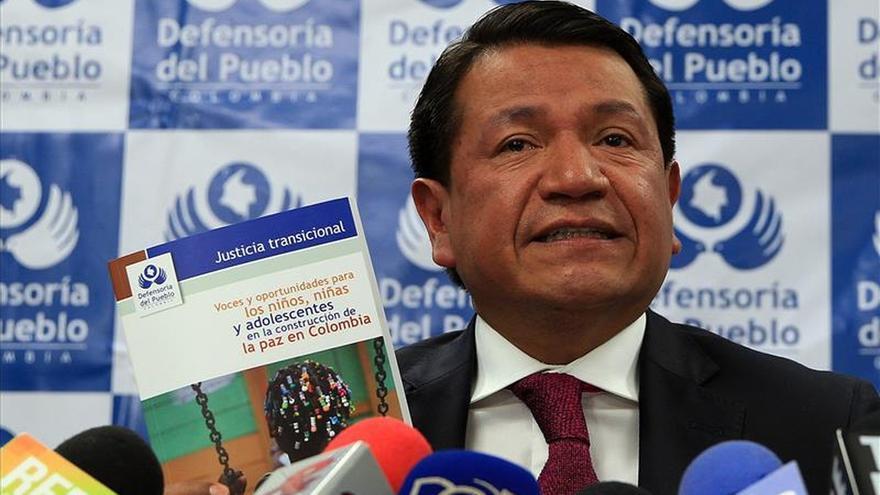 La Defensoría de Colombia pide no aislar a los niños del proceso de paz con las FARC
