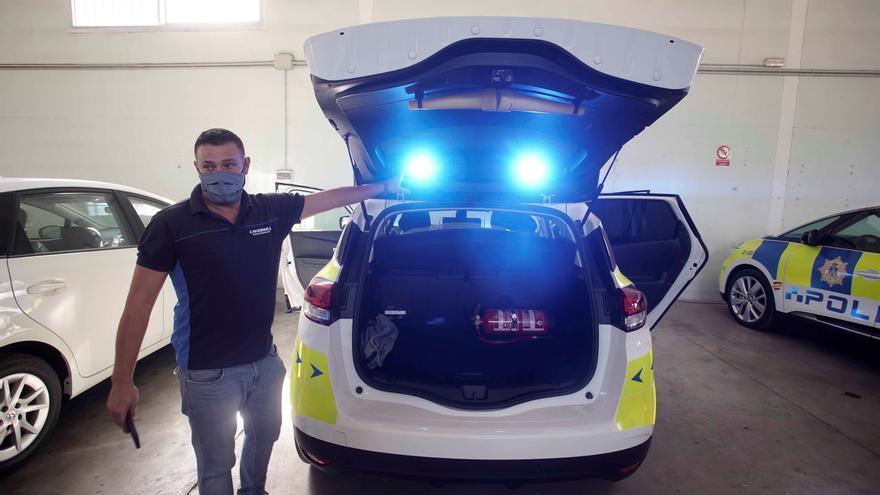 De vehículo particular a patrulla policial en dos días
