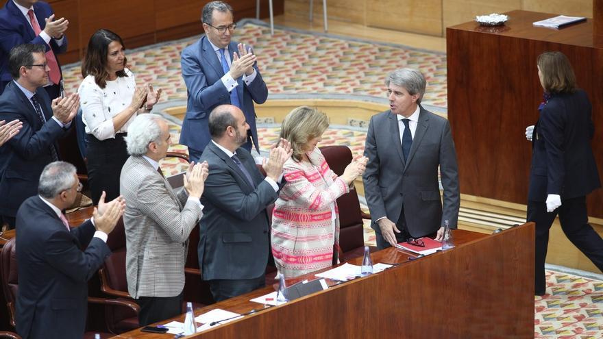 """El PP """"salva los muebles"""" con la investidura de Garrido como presidente de Madrid con el apoyo de Ciudadanos."""