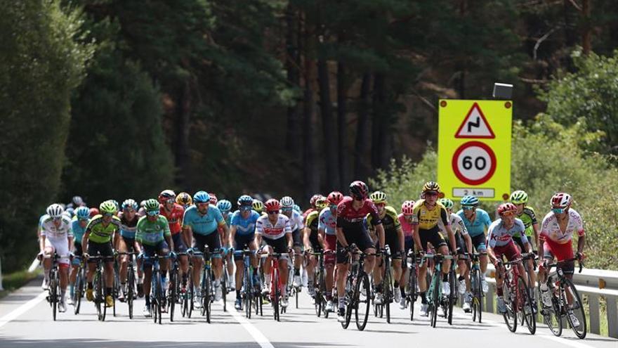 La llegada de la Vuelta a Madrid provocará hoy cortes de tráfico