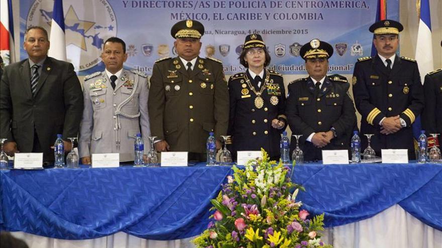 Reeligen a la nicaragüense Granera como presidenta de la Comisión regional de Policías