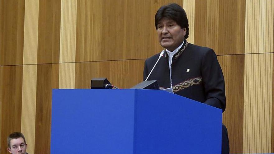 """Morales dice en la ONU que Bolivia es un país privado """"temporalmente"""" de litoral"""