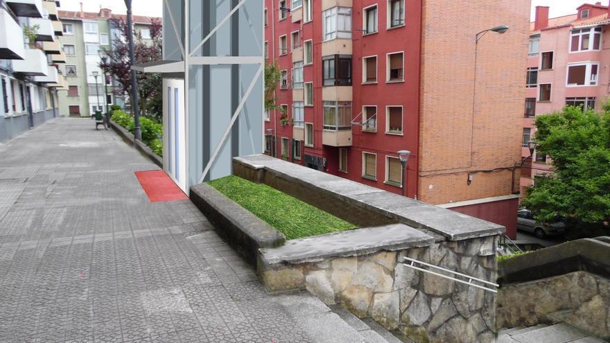 Ayuntamiento de Bilbao instalará nuevos ascensores y rampas para mejorar la accesibilidad en la zona este de Uribarri
