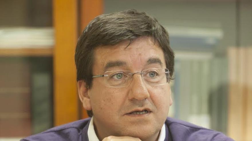 El exalcalde de Vitoria y actual portavoz del PSE en el Ayuntamiento, Patxi Lazcoz.