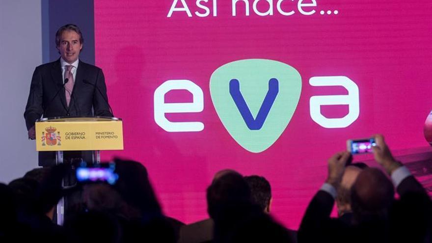 El ministro Íñigo de la Serna en la presentación del proyecto