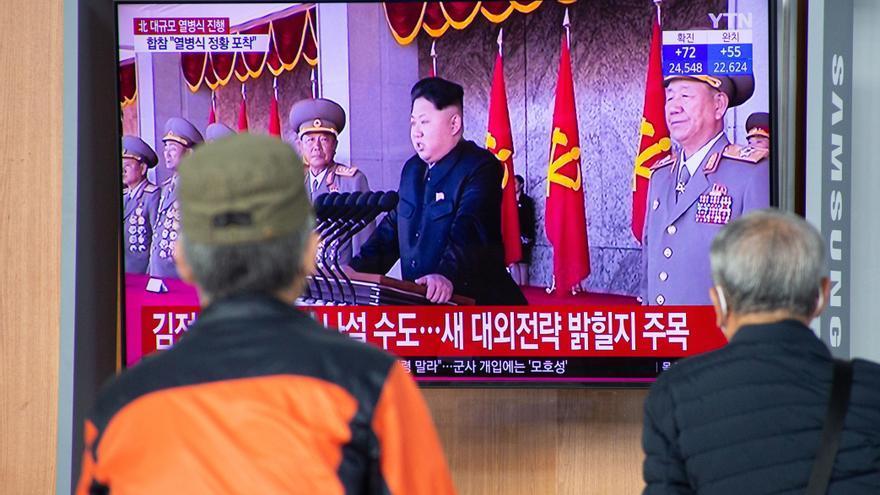 "Medios de Pionyang destacan la llamada de Kim a mantener el ""músculo militar"""