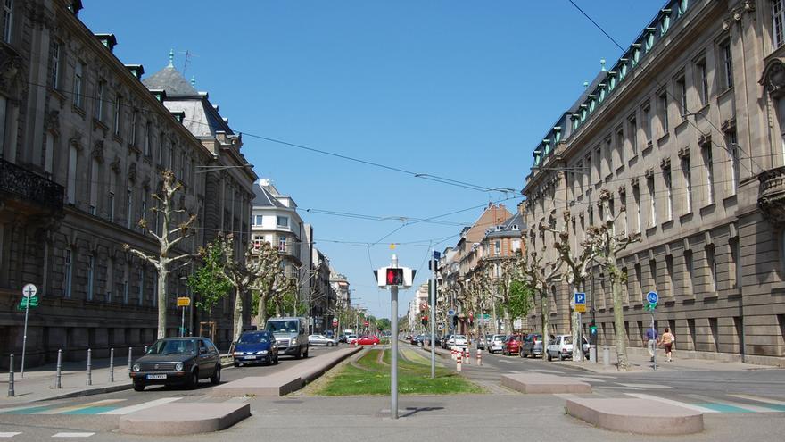 Fachadas neoclásicas en el Barrio Alemán. Edwin Lee (CC).