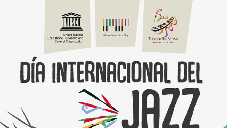 Cartel de la conmemoración del Día Internacional del Jazz en La Laguna