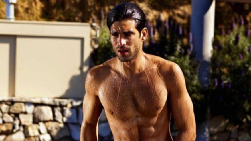 Lo que escondía el bañador de Rubén Cortada, desnudo en Instagram