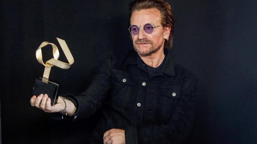 U2 siembra concordia en un histórico concierto en la capital del Bréxit