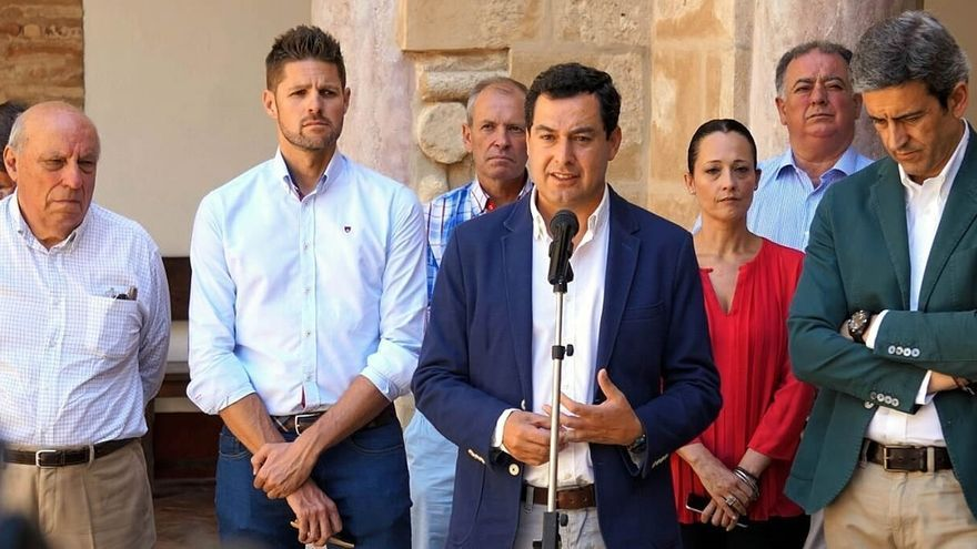 "PP-A, ""partidario"" de levantar medidas cautelares sobre 35 horas, culpa a Díaz por preferir ""buena bronca"" a dialogo"