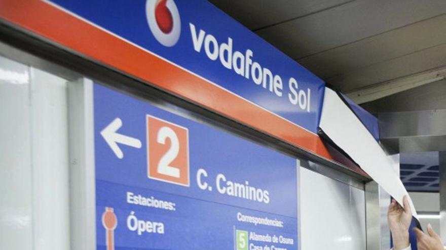 Estación de Vodafone Sol / Wikipedia