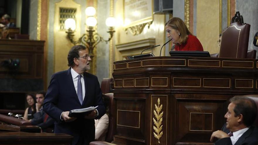 Rajoy apela al cumplimiento de sentencias para impedir la candidatura de Otegi