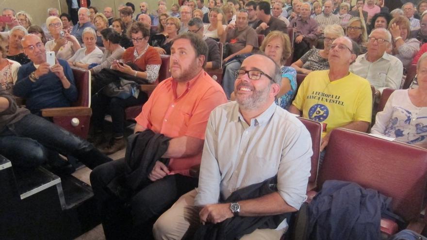 Junqueras pide la independencia para que el TC no decida más sobre los catalanes