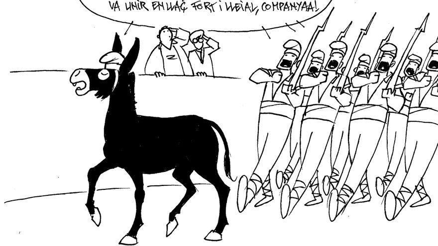 El ejército de Cataluña