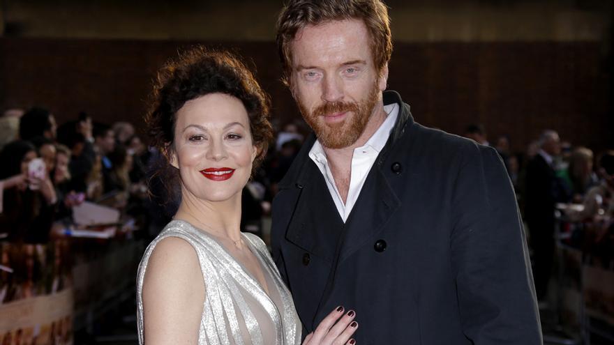 Damian Lewis y Helen McCrory en una imagen de 2015